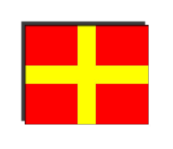 Международные морские сигнальные флаги.