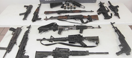 Marina Armada abate a 8 criminales y asegura fusiles, granadas y ...