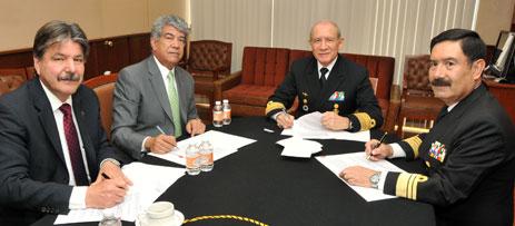 semar y pemex firman convenio para la construcción de flota menor
