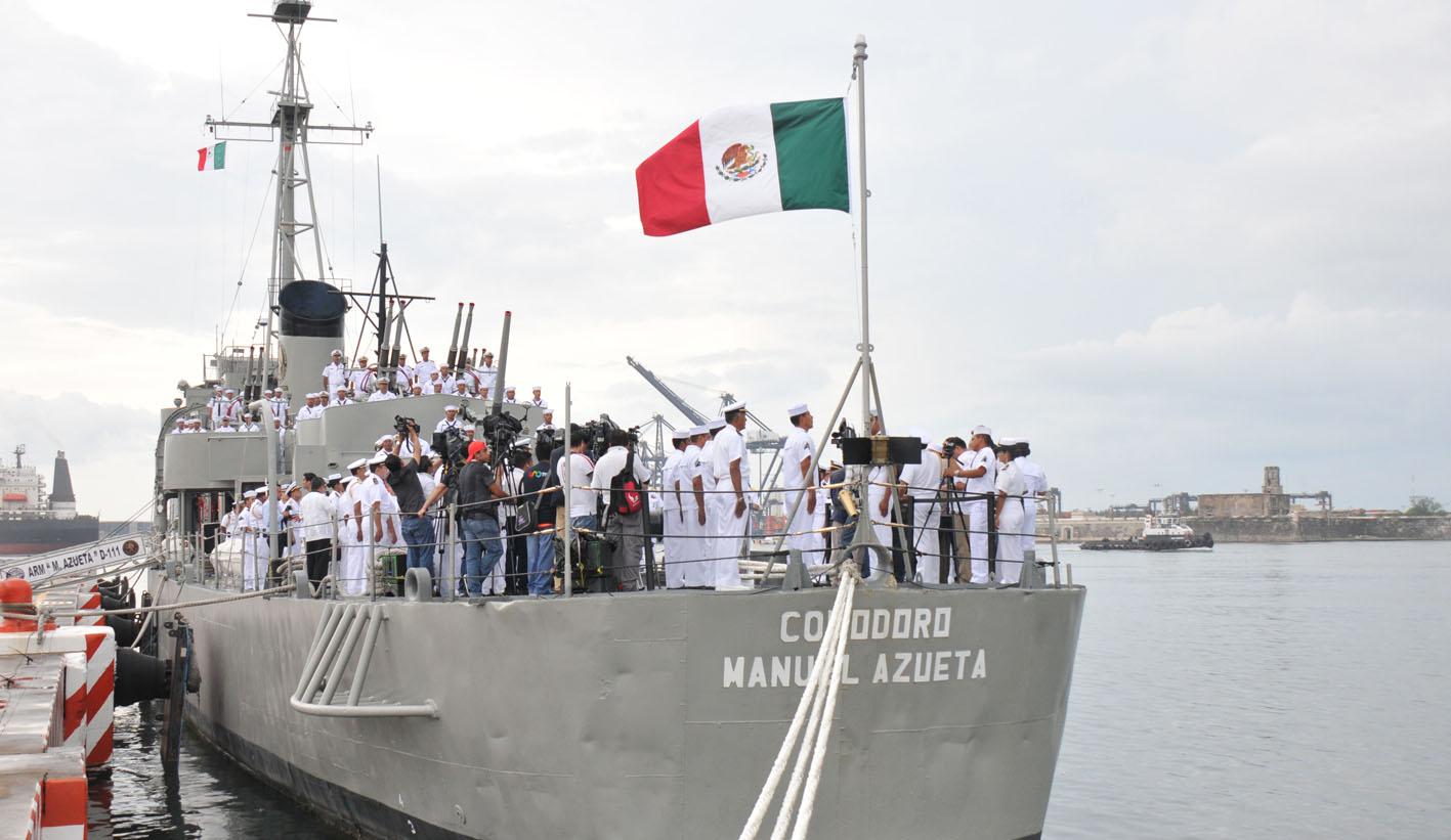 El Buque Destructor Arm Comodoro Manuel Azueta D-111