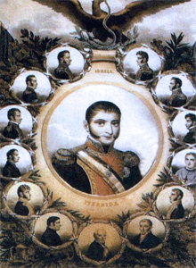 contemporaneos de iturbide